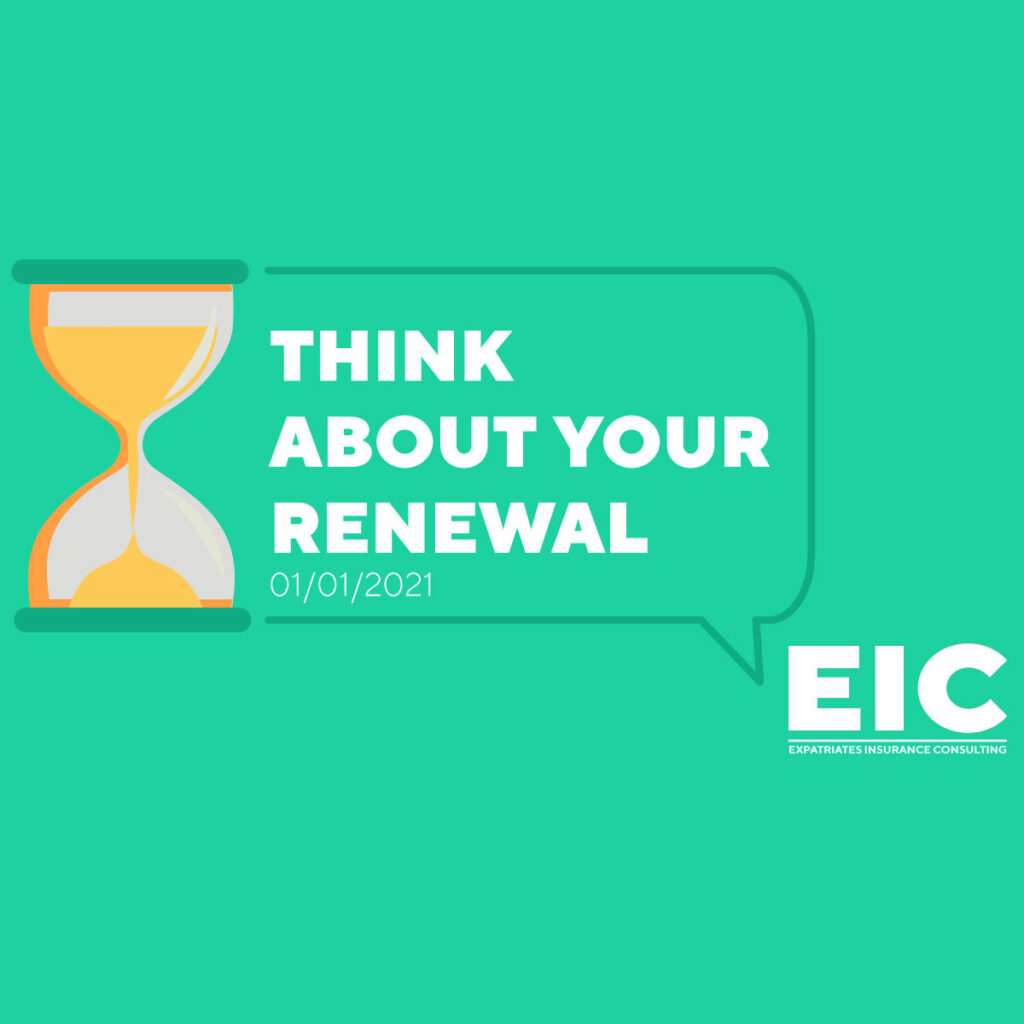 Think about your renewal